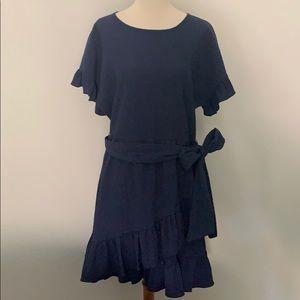 NWT Michael Kors ruffled dress sz petite L